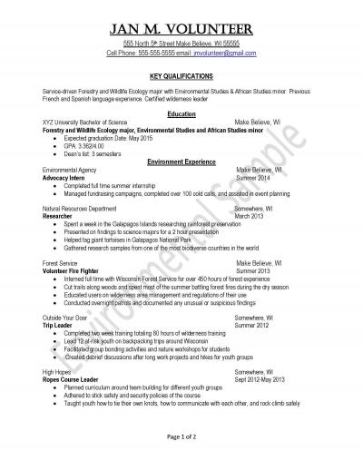peace corps uva career center updated resume environment sample honors and awards on Resume Peace Corps Updated Resume