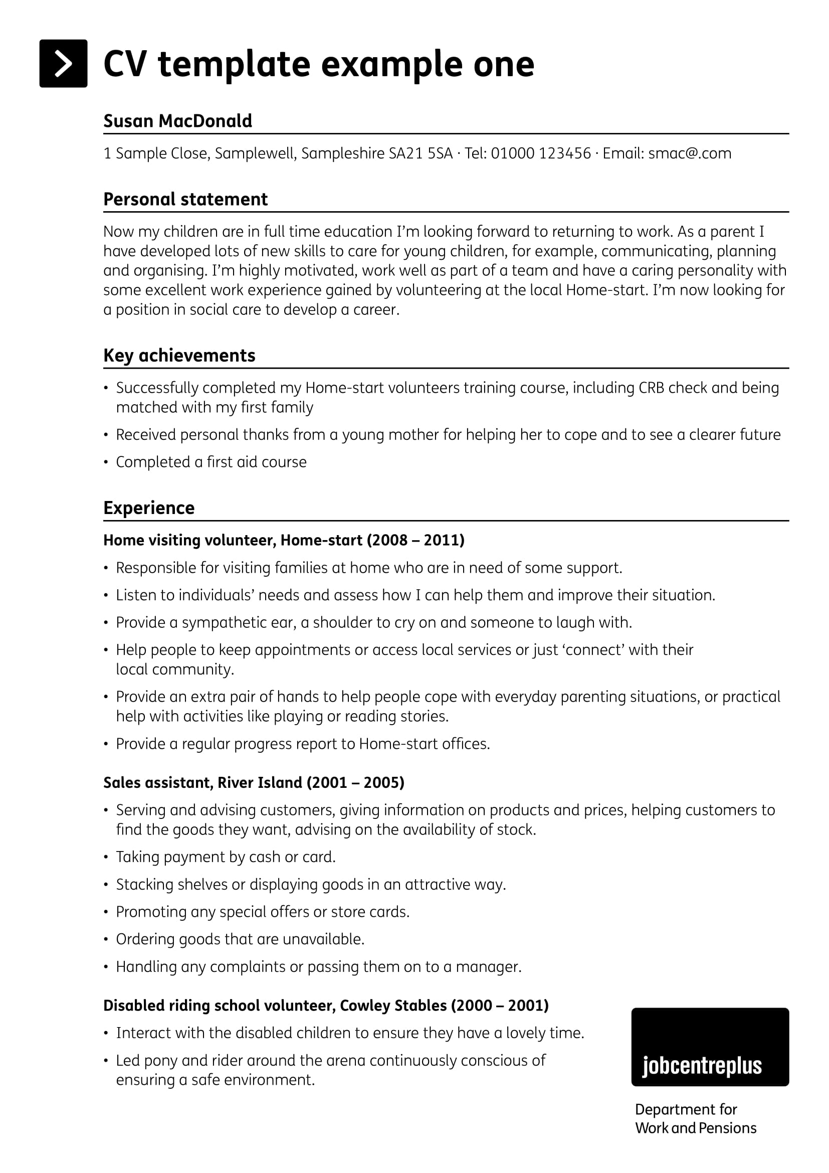 personal summary examples pdf best statements for resume statement example most Resume Best Summary Statements For A Resume