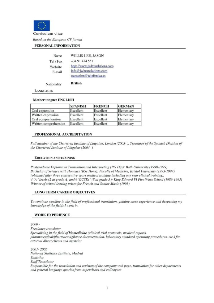 pharmacy resume format for freshers templates template word free translation networking Resume Free Resume Translation