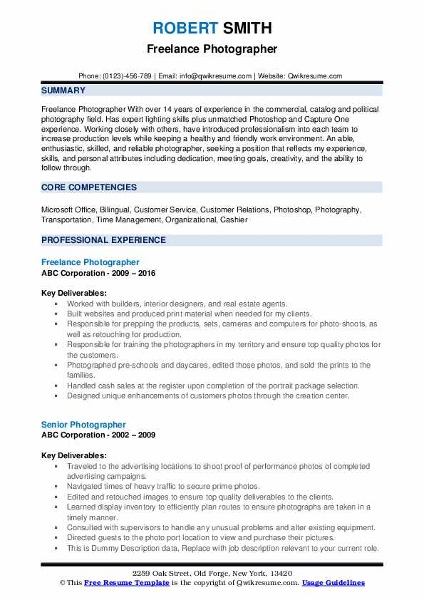 photographer resume samples qwikresume duties pdf director of manufacturing operations Resume Photographer Duties Resume