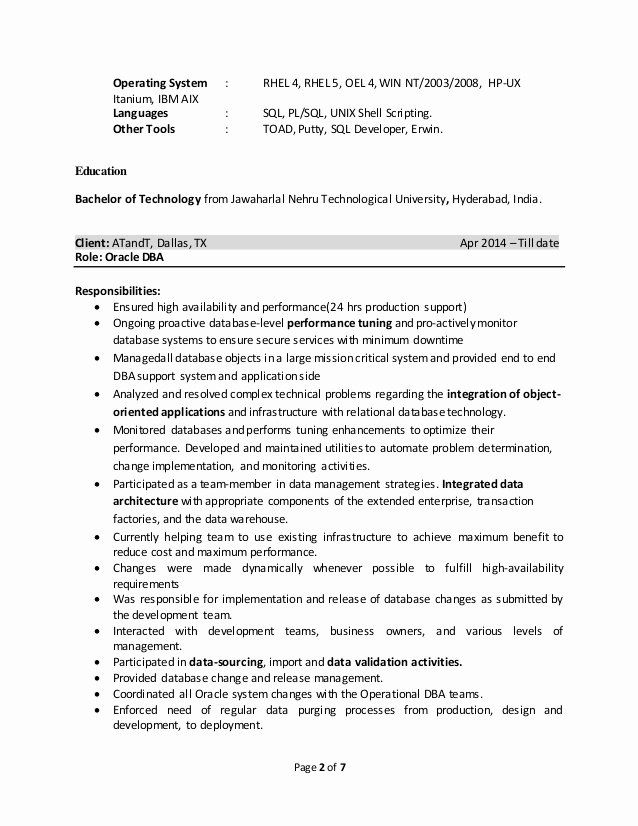 pin on my best ideas for job resume example oracle years chef skills diamond grader Resume Oracle Dba Resume For 2 Years