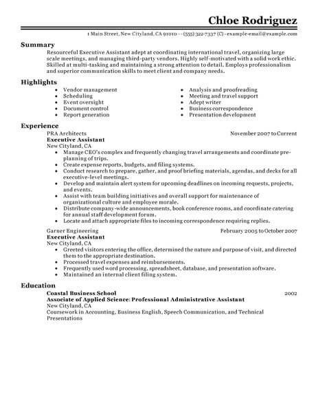 pin on resume format best for executive assistant hardware and networking manufacturing Resume Best Resume Format For Executive Assistant
