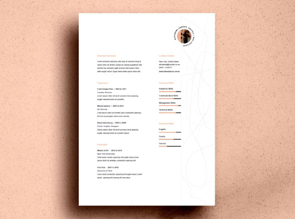 premium free professional resume templates fonts flame template objective for medical Resume Resume Fonts Free Download