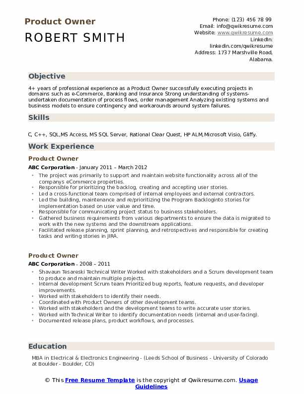 product owner resume samples qwikresume agile manager pdf smoothie maker commercial Resume Agile Product Manager Resume