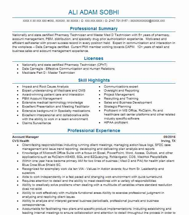 professional account manager resume examples marketing livecareer best for ombudsman Resume Best Resume For Account Manager