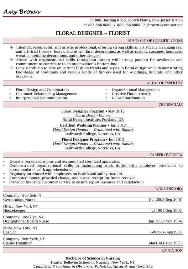 professional resume samples best templates examples writer floral assistant computer make Resume Floral Assistant Resume