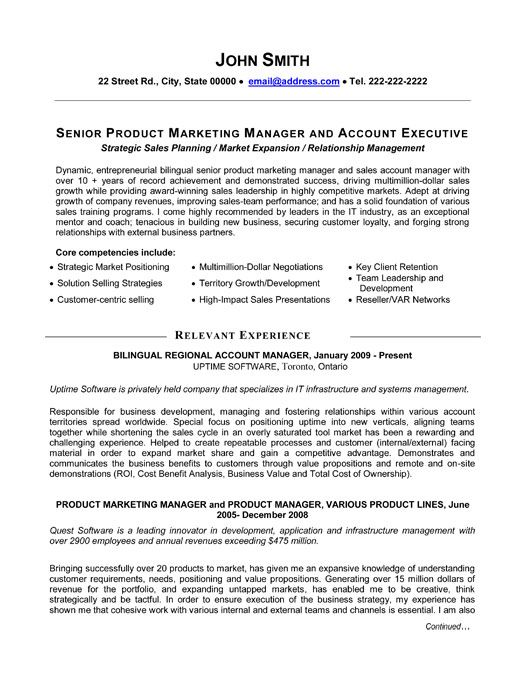 professional resume template for senior product manager want it now job samples entry Resume Senior Product Manager Resume