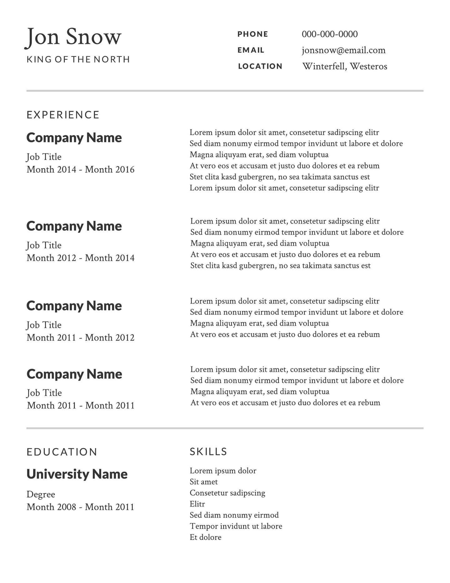 professional resume template lucidpress should use 2x blue collar examples retail Resume Should I Use A Resume Template