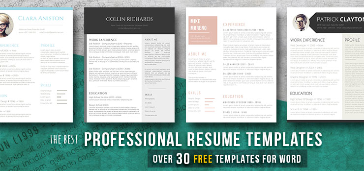 professional resume templates ideal for collar job freesumes free sample template Resume Free Sample Professional Resume Template