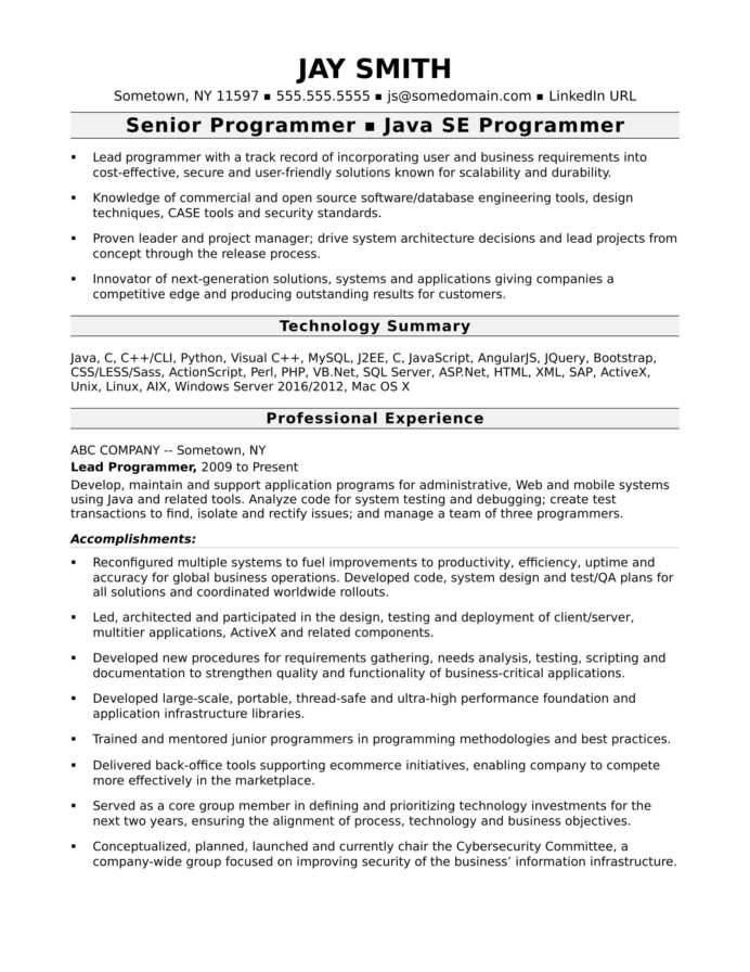 programmer resume template monster perfect reviews computer experienced generator Resume Perfect Resume Dallas Reviews