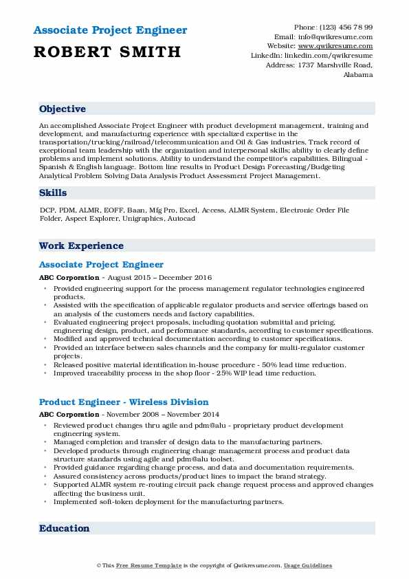 project engineer resume samples qwikresume objective for fresher mechanical pdf bot Resume Objective For Resume For Fresher Mechanical Engineer