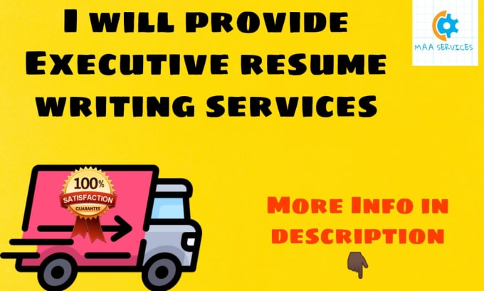 provide executive resume writing services and cover letter by mohsinaliashiq professional Resume Professional Executive Resume Writing Services