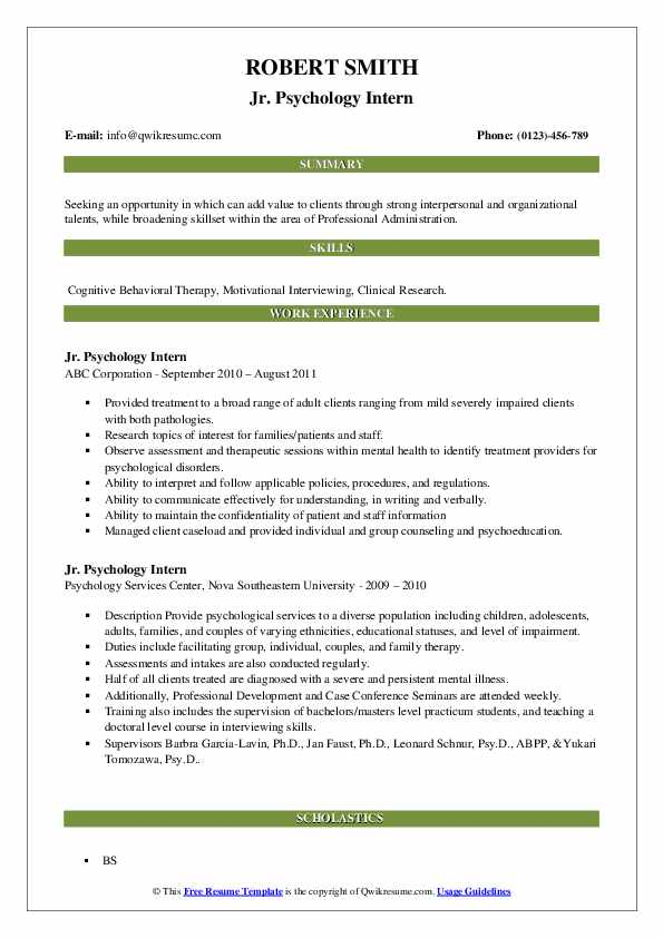 psychology intern resume samples qwikresume industrial objectives pdf unarmed security Resume Industrial Psychology Resume Objectives