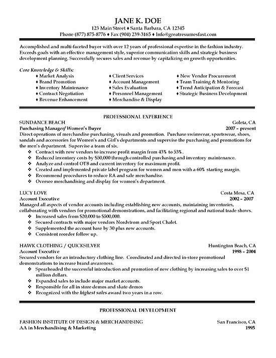 purchasing resume example fashion industry services sample exsa16 nerd summary examples Resume Fashion Industry Resume Services
