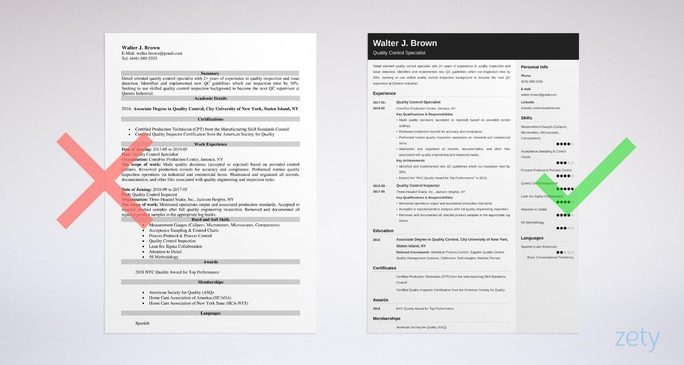 quality control resume examples job description skills format for manager example best Resume Resume Format For Quality Control Manager