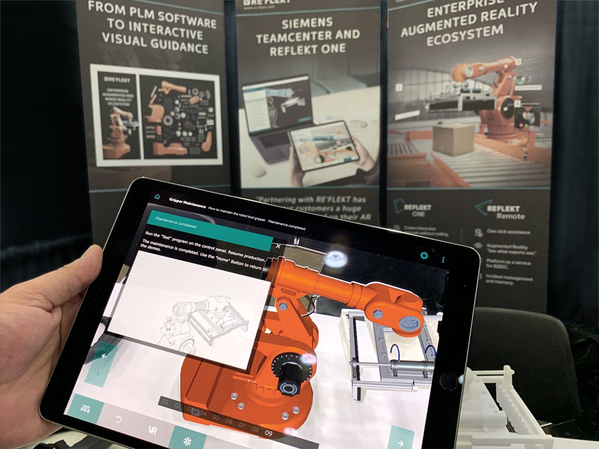 re flekt on we at to show you can available siemensplm data into the content creation Resume Augmented Reality Resume