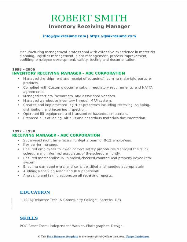 receiving manager resume samples qwikresume shipping and sample pdf examples word team Resume Shipping And Receiving Manager Resume Sample