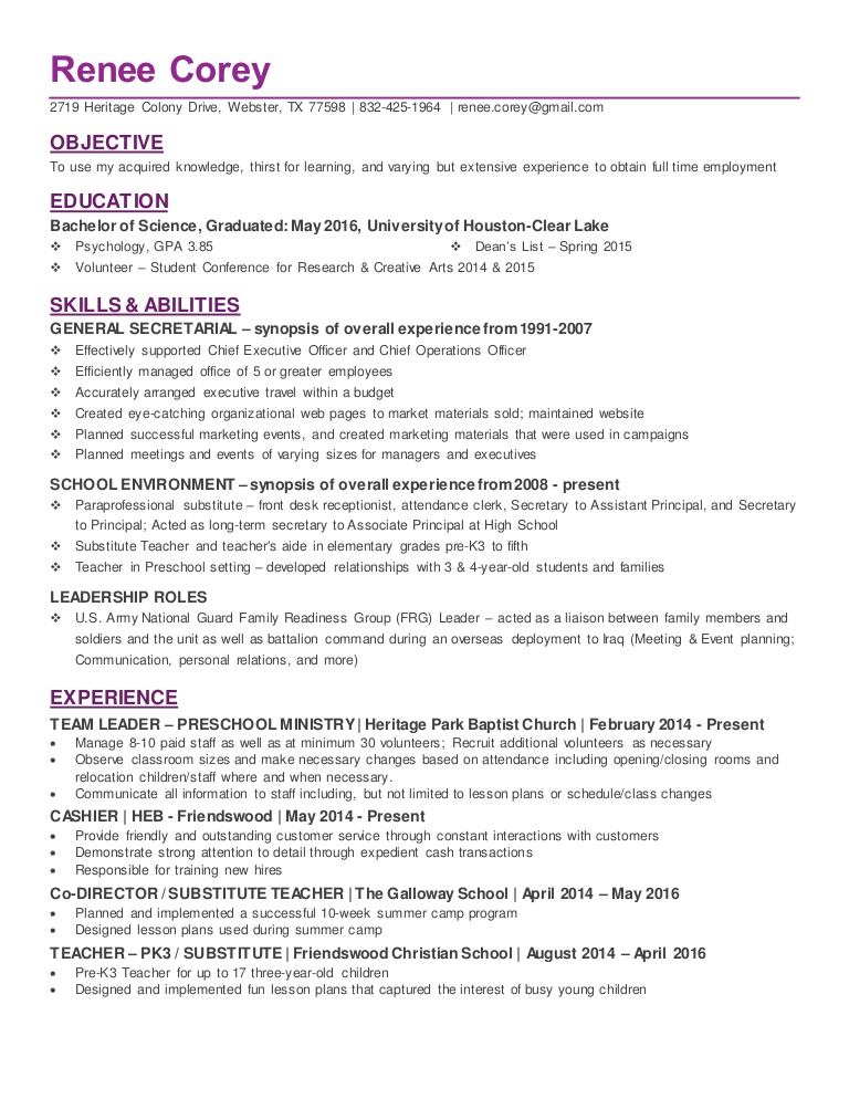 recent college graduate in psychology resume school psychologist objective thumbnail anna Resume School Psychologist Resume Objective