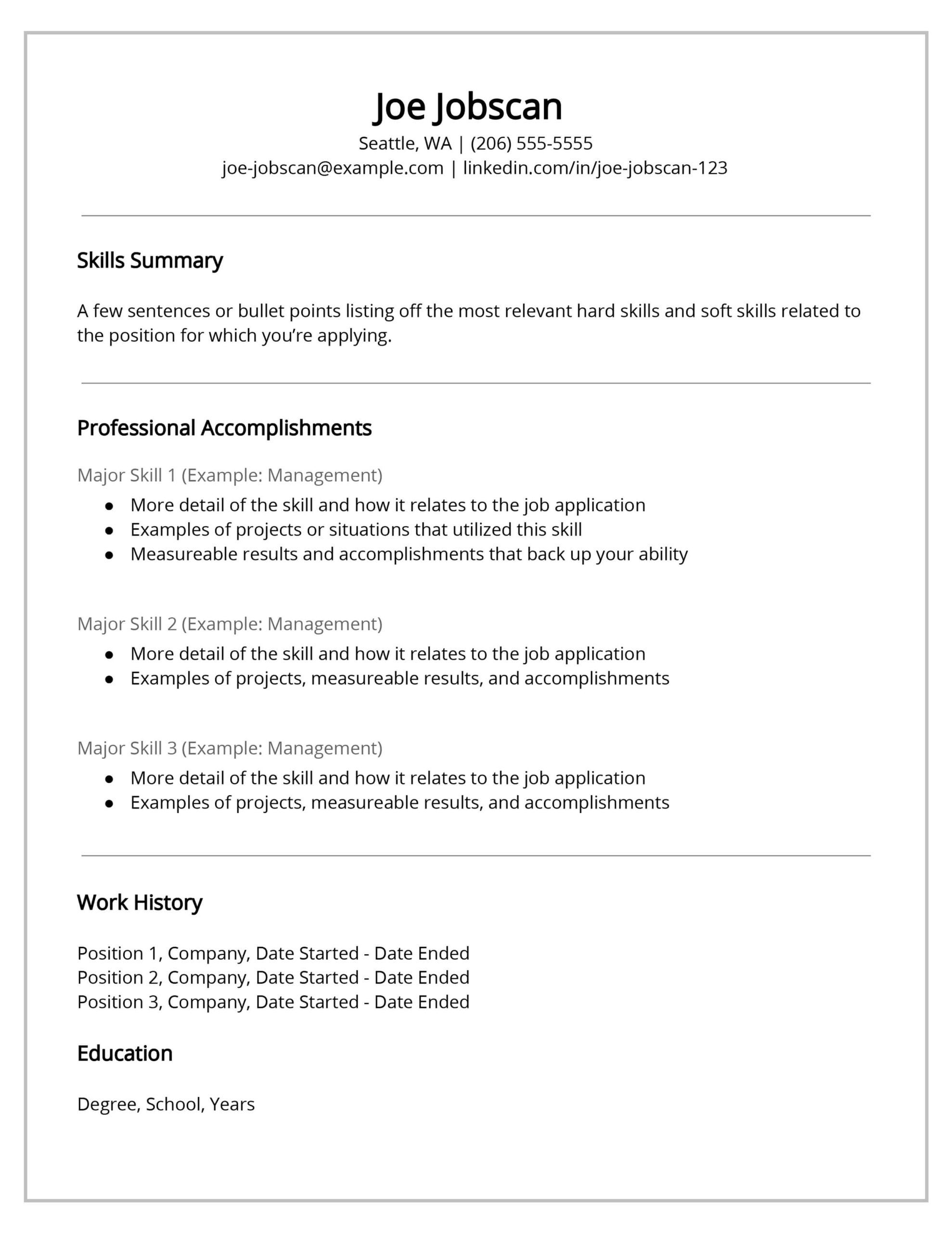 recruiters hate the functional resume format here strong examples template self motivated Resume Strong Resume Examples 2017