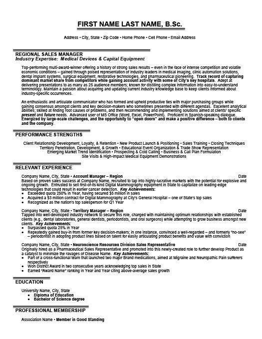 regional manager resume template premium samples example cover writing business Resume Regional Manager Resume