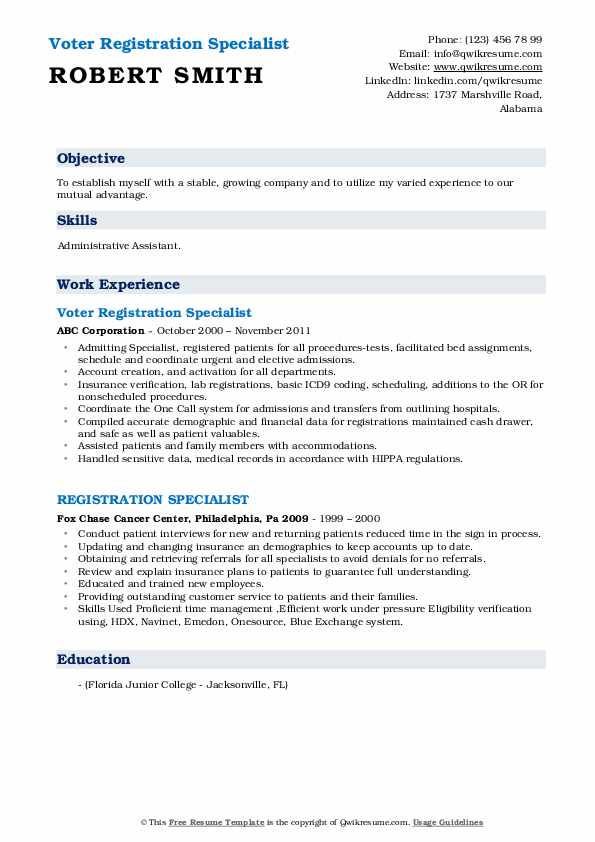 registration specialist resume samples qwikresume pdf investment analyst high school Resume Registration Specialist Resume