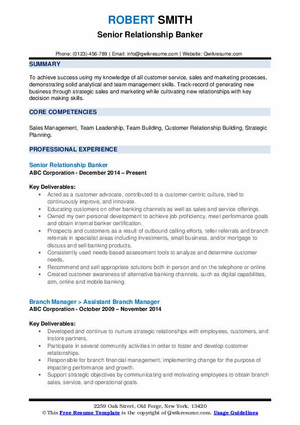 relationship banker resume samples qwikresume building pdf wso template technical project Resume Relationship Building Resume
