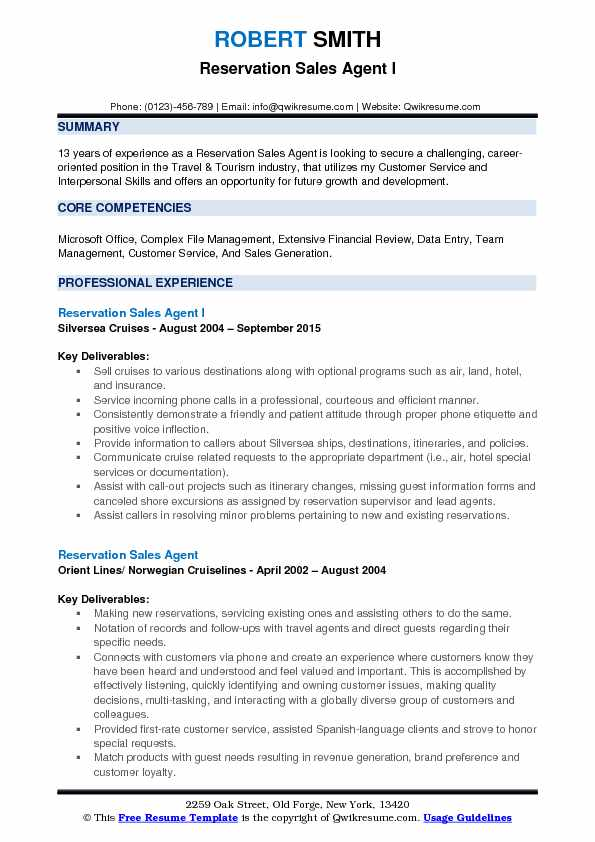 reservation agent resume samples qwikresume cruise ship objective pdf business operations Resume Cruise Ship Objective Resume