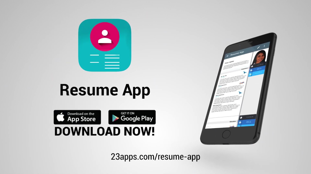 resume builder to make great looking cv for free ipad quality assurance examples prospect Resume Free Resume Builder Ipad