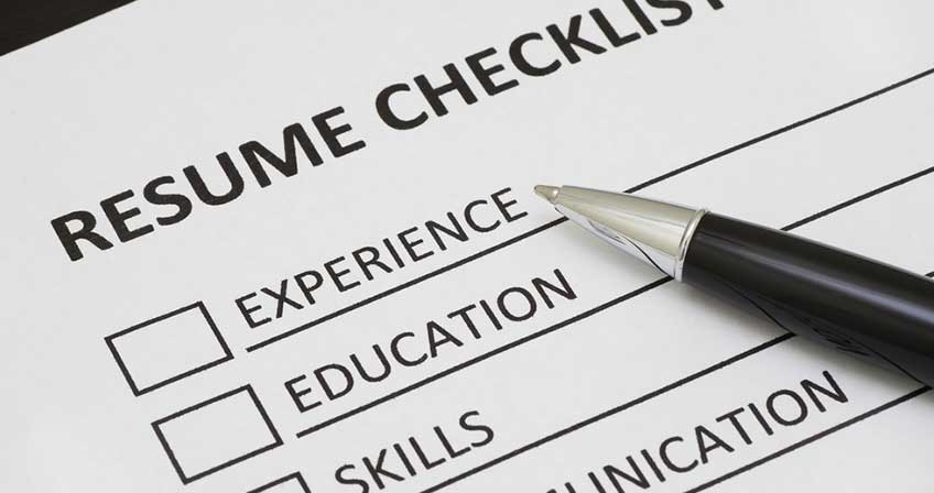 resume checklist for every stage of your career talent economy writing professional Resume Checklist For Resume Writing