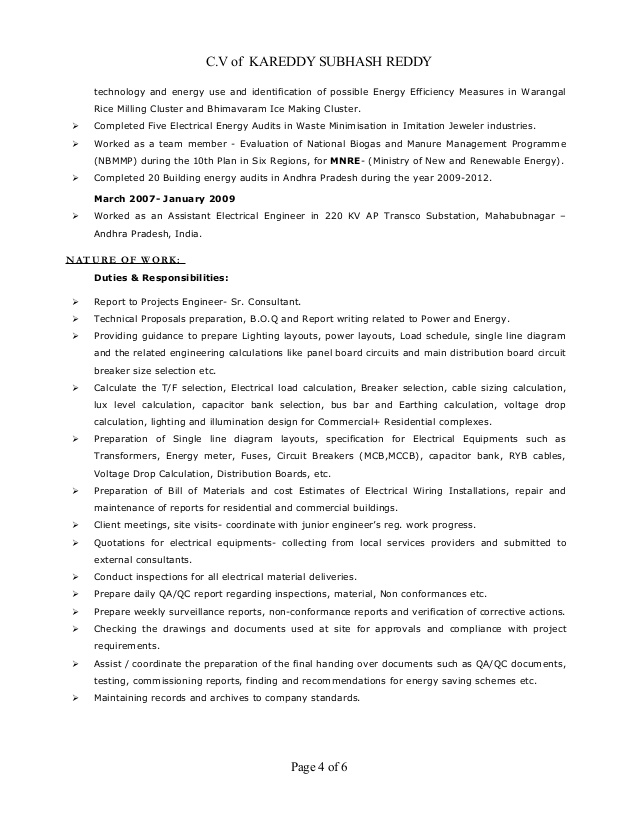 resume electrical engineer mep years exp sample for energy gym trainer job driver Resume Sample Resume For Energy Engineer