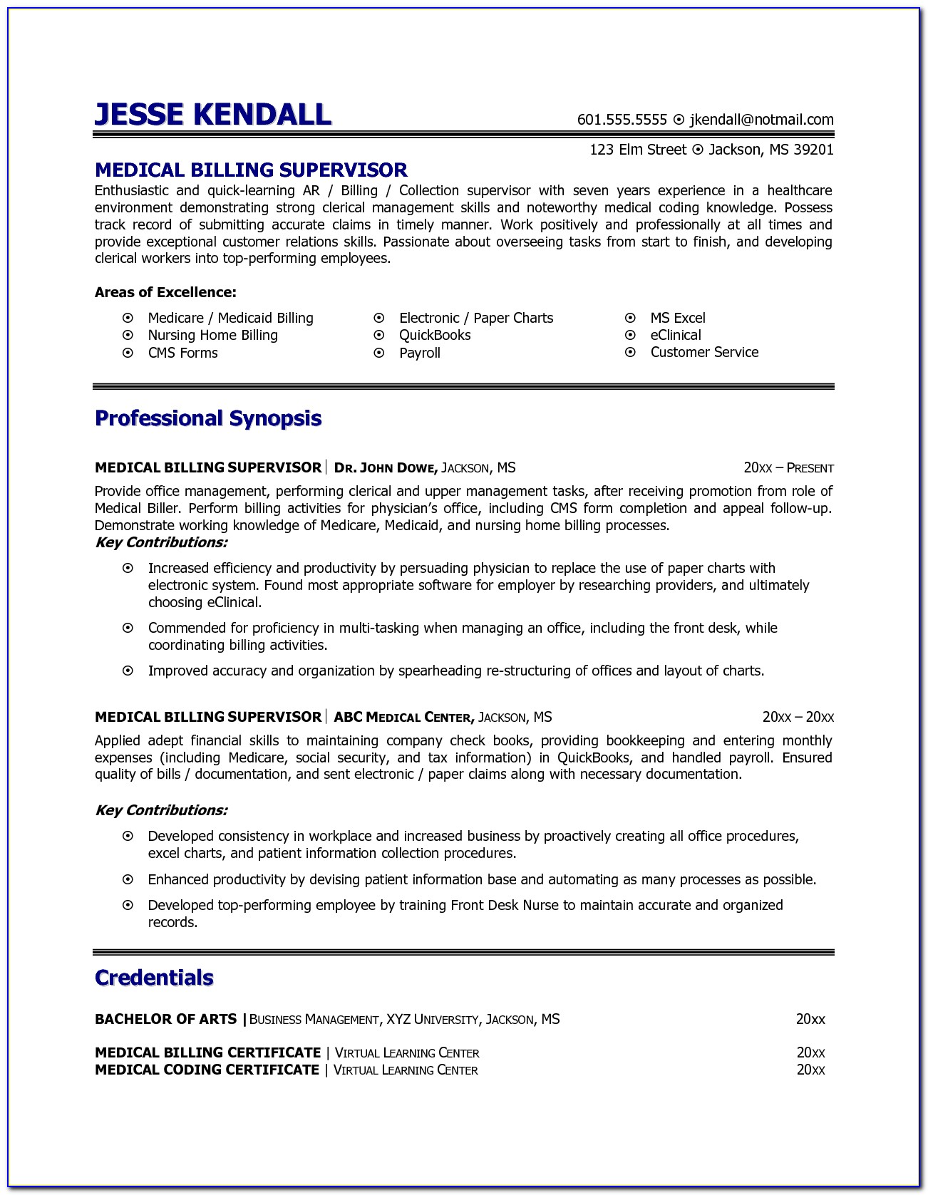 resume examples for medical billing and coding vincegray2014 experience skills latex Resume Coding Experience Resume