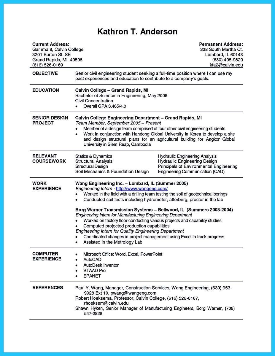 resume examples for students trendy best current college student with no experience of Resume Graduate Resume Builder