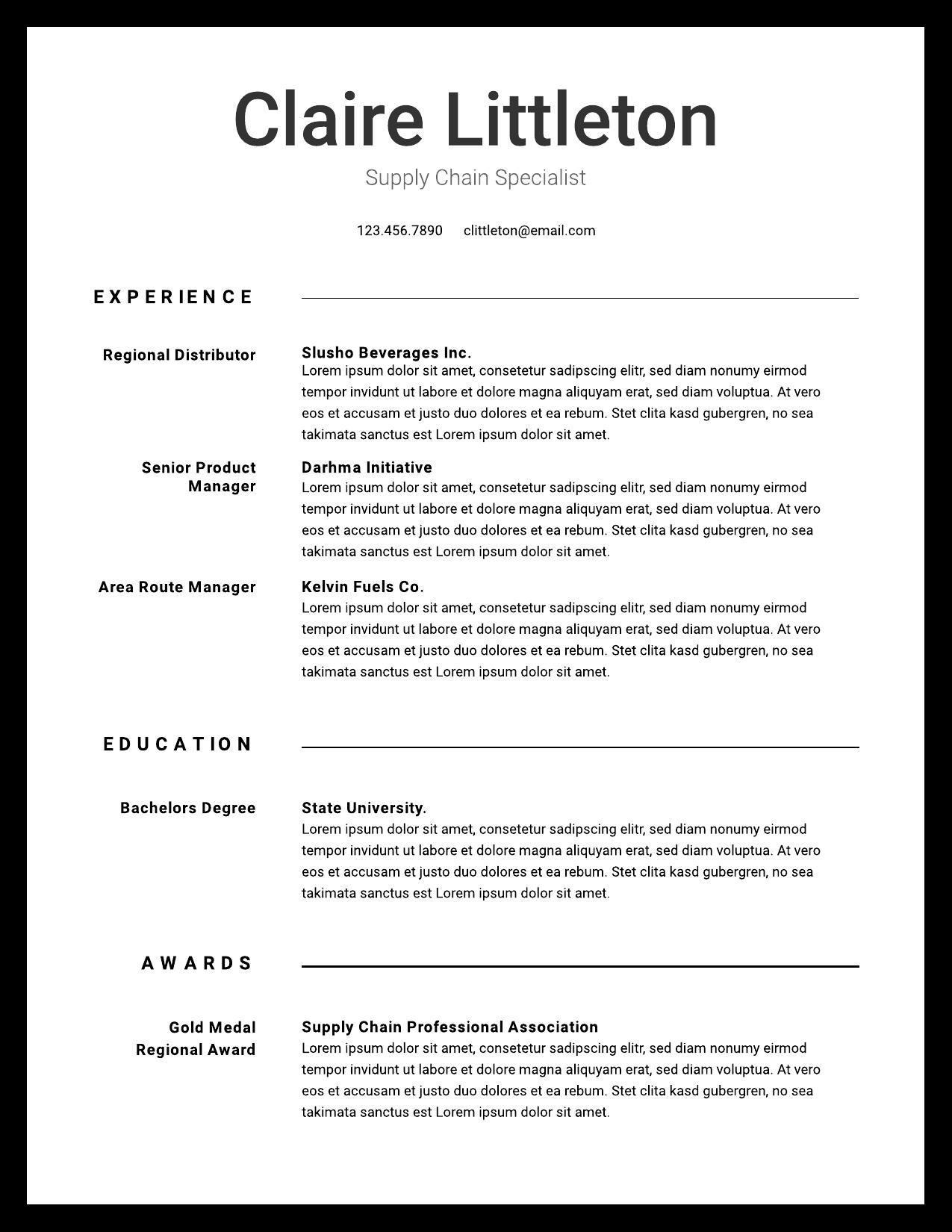 resume examples writing tips for lucidpress experience ideas image09 professional Resume Experience Ideas For Resume