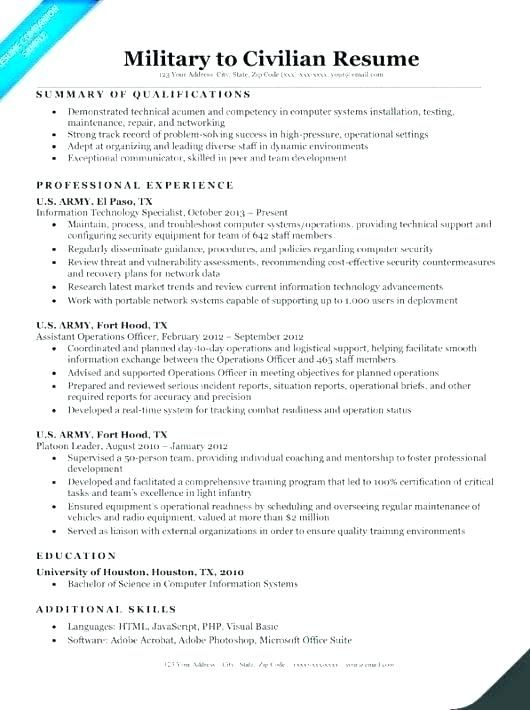 resume for veterans military veteran examples sample army res templates professional Resume Federal Resume Writing Services For Veterans
