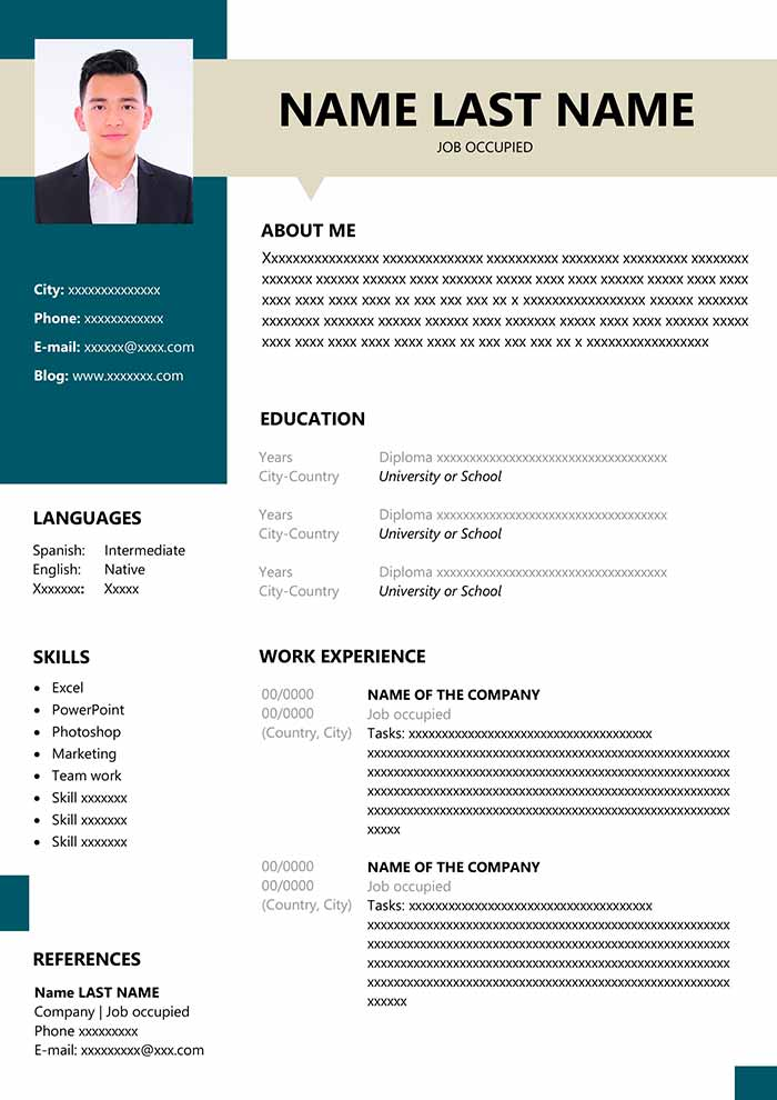 resume format for fresher in ms word free freshers with photo curriculum vitae cls Resume Free Download Resume Format For Freshers With Photo