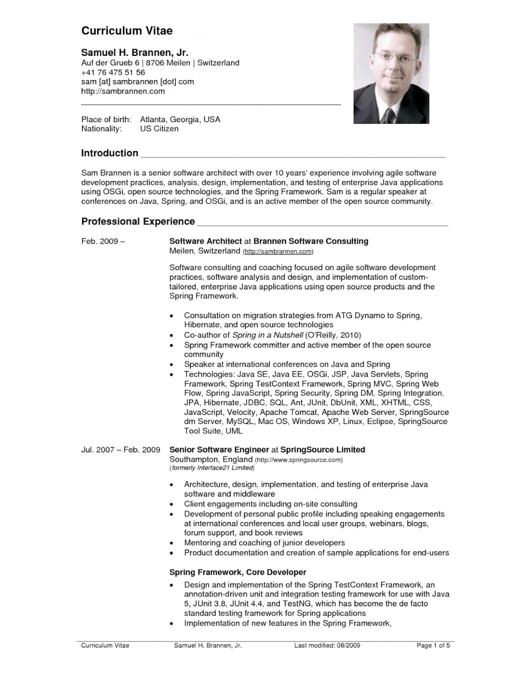 resume format professional cv sample best architect skills and qualifications bld Resume American Resume Format Sample