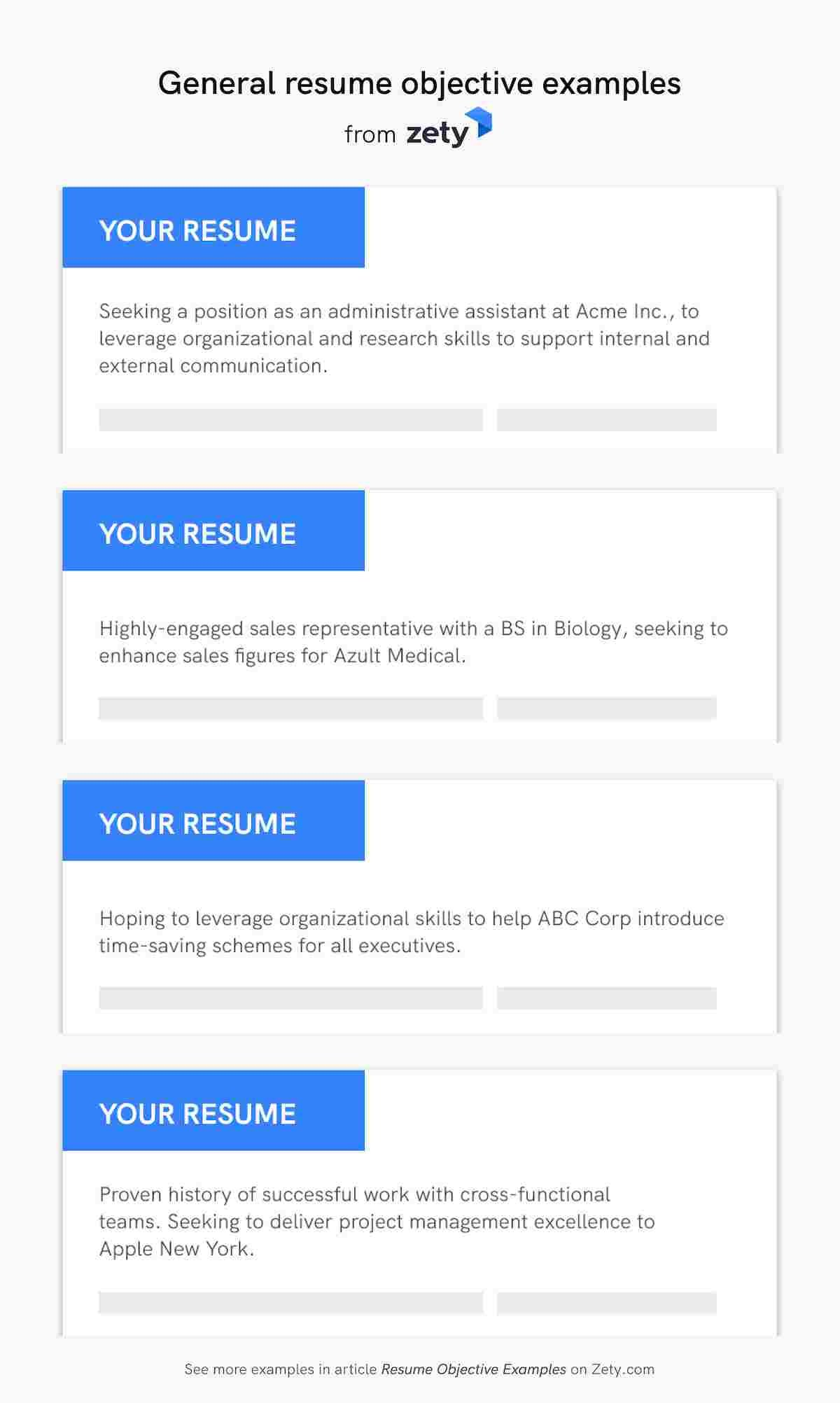 resume objective examples career objectives for all jobs generic general can you put Resume Generic Resume Objective