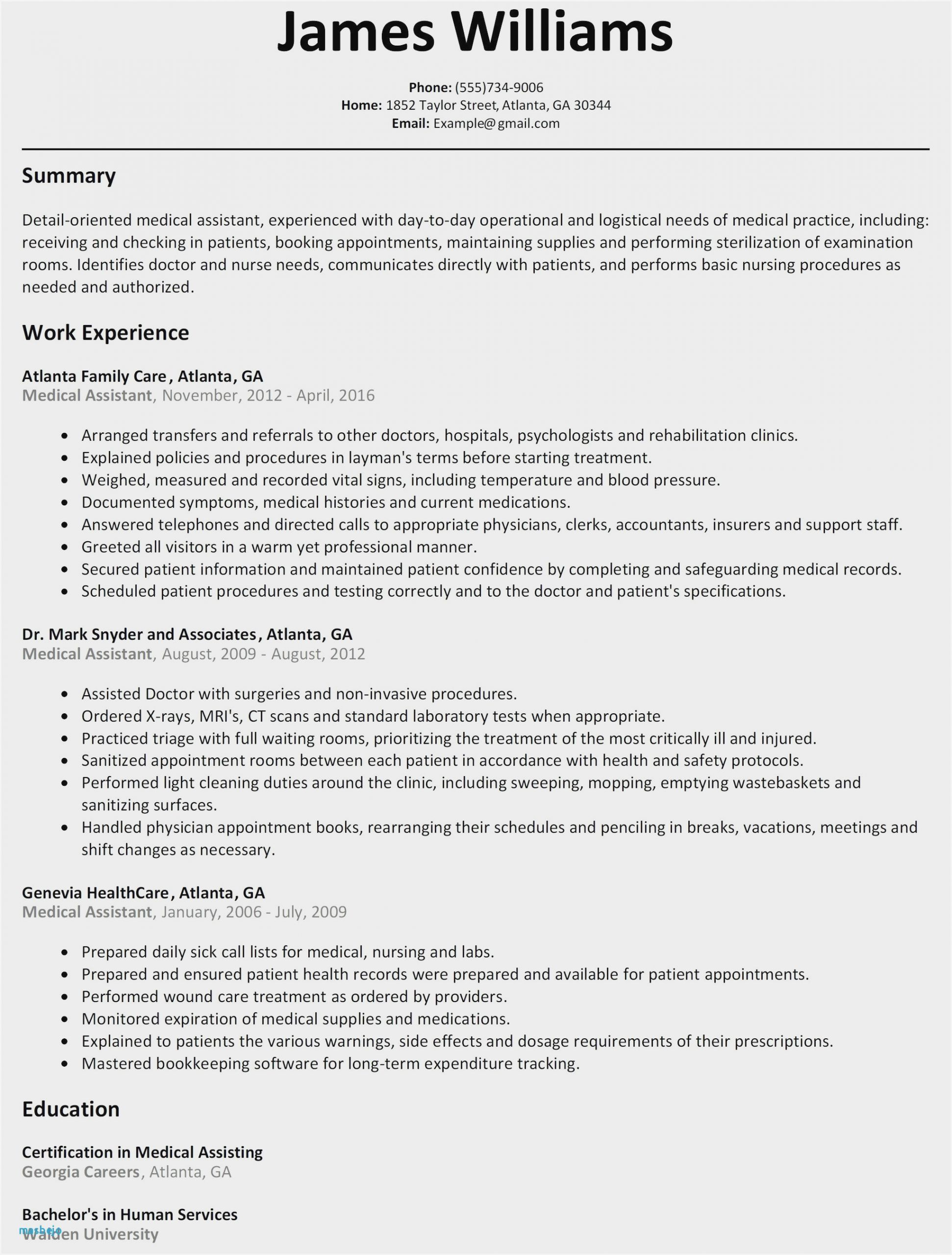 resume objective statement examples nursing sample for medical assistant student scaled Resume Resume Objective For Medical Assistant Student