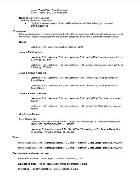 resume outline templates samples pdf free premium template for word usda examples Resume Resume Outline Template