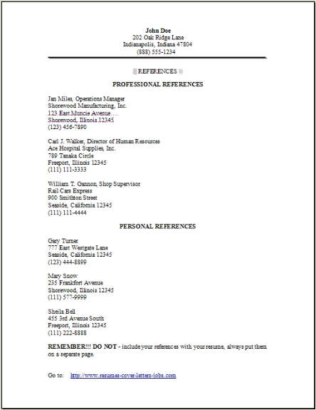 resume reference ipasphoto references example template is the source of creative ideas Resume Resume References Example