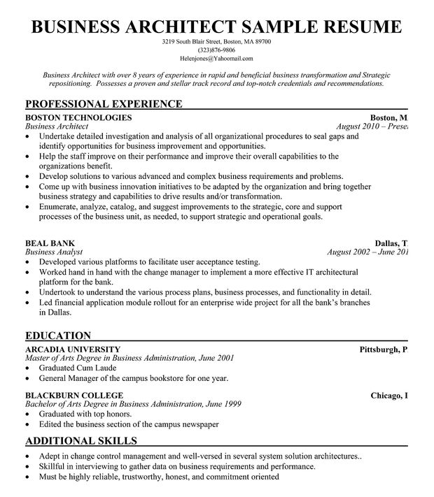 resume samples and to write companion architect sample college template enterprise Resume Enterprise Architect Resume
