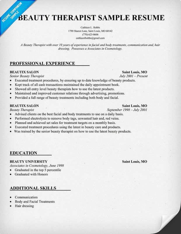 resume samples and to write companion template free job sample beauty parlour format Resume Beauty Parlour Resume Format