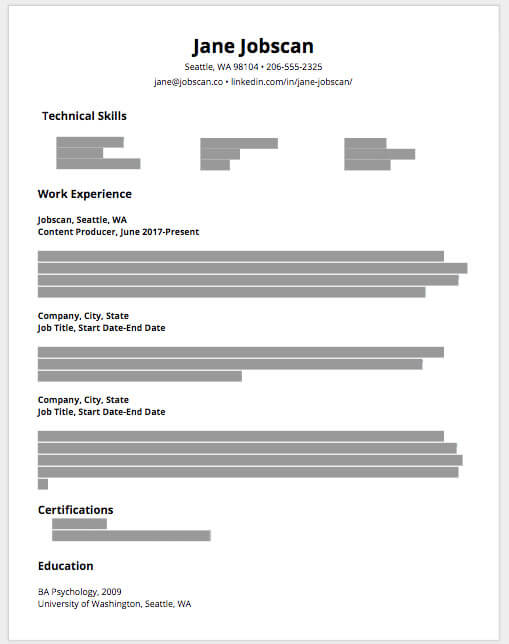 resume sections you need and them good heading for example journeyman best warehouse job Resume Good Heading For A Resume