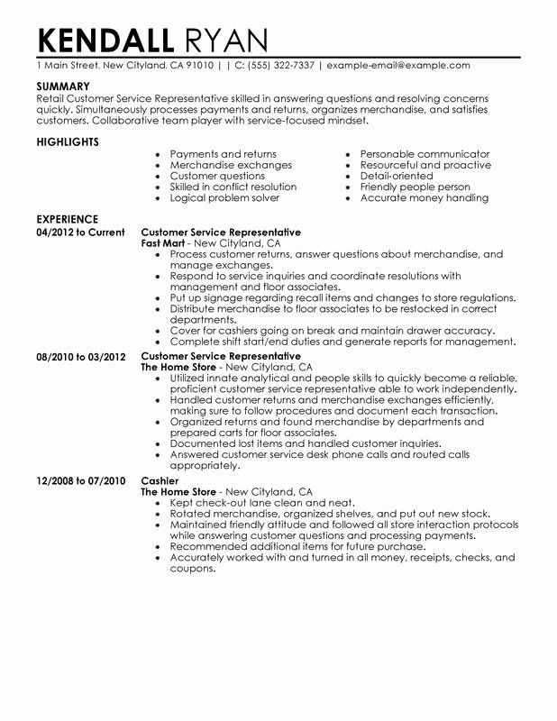 resume skills for retail awesome with resumes jobs format customer service examples Resume Conflict Resolution Resume Sample