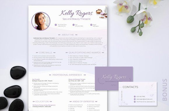 resume spa beauty therapist design template telecom project manager free nursing Resume Beauty Therapist Resume Template