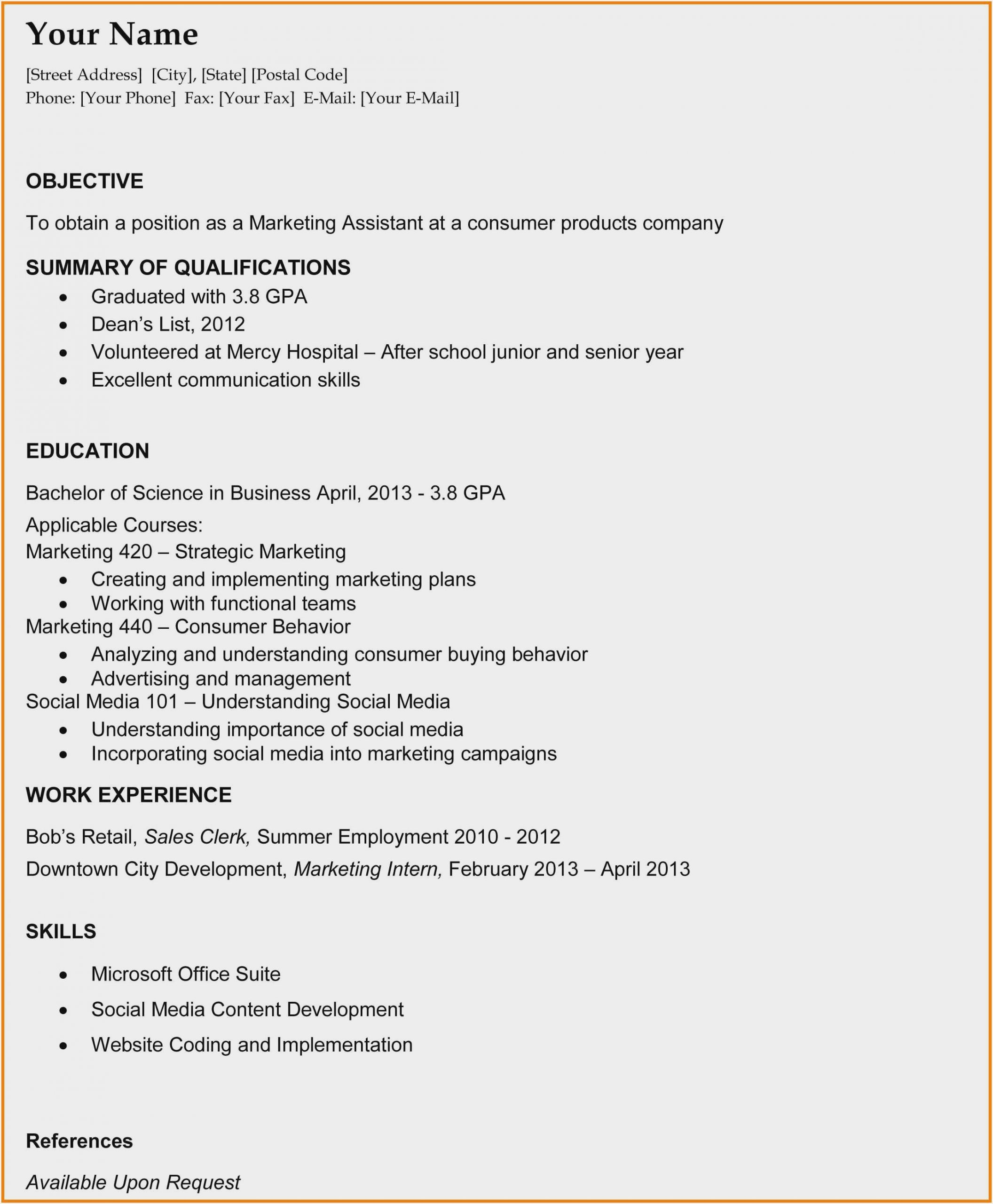 resume template for college grad sample recent samples graduate scaled with cucumber Resume Recent College Grad Resume Samples