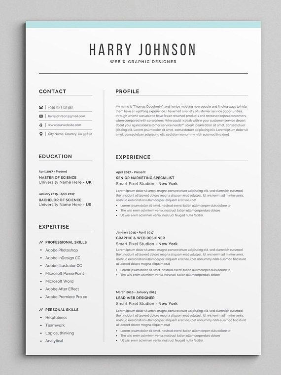 resume template modern professional for word cv cover letter assistance chicago good Resume Resume 2019 Template Word