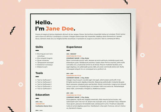 resume template photos royalty free images graphics vectors adobe stock templates Resume Adobe Stock Resume Templates