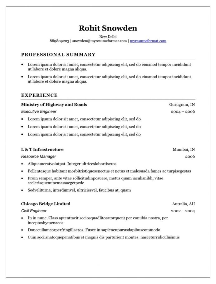 resume template word free executive my format builder outlines microsoft elegant 779x1024 Resume Free Resume Outlines Microsoft Word