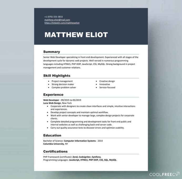 resume templates examples free word best document format template it center manager Resume Best Resume Document Format